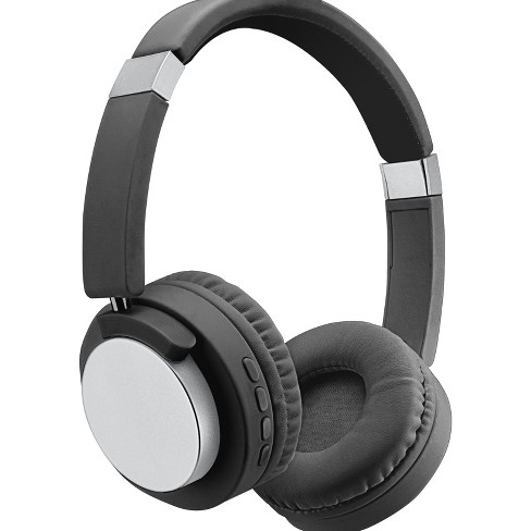 Sentry Bt500 Bluetooth Headphones With Microphone Silver Target