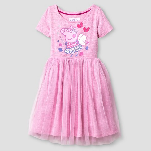 2217268b5 Toddler Girls' Peppa Pig Maxi Dress Pink 5T : Target