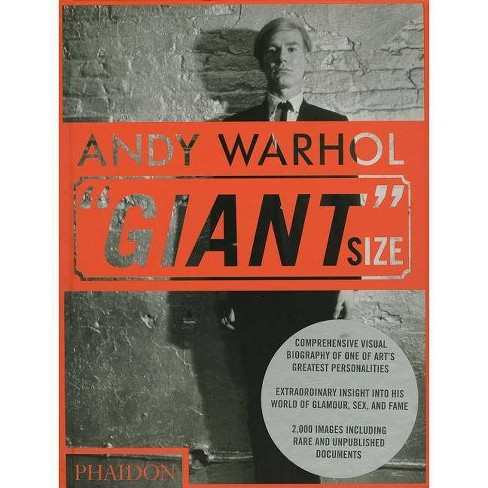 """Andy Warhol """"Giant"""" Size - by  Steven Bluttal (Hardcover) - image 1 of 1"""