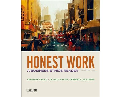 Honest Work : A Business Ethics Reader -  (Paperback) - image 1 of 1