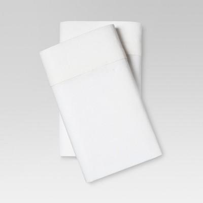 Linen Blend Pillowcase Set (Standard)White - Threshold™
