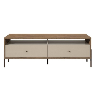 "Joy 59"" TV Stand with 2 Full Extension Drawers - Manhattan Comfort"