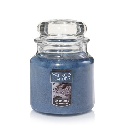 12.5oz Glass Jar Warm Luxe Cashmere Candle - Yankee Candle