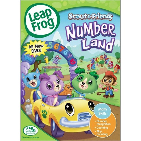 LeapFrog: Numberland (dvd_video) - image 1 of 1