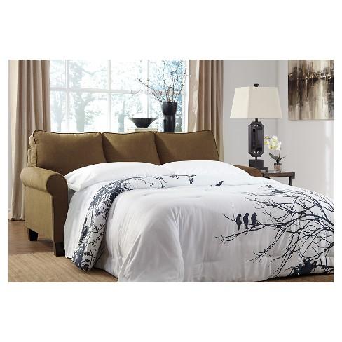 Zeth Full Sofa Sleeper Basil Signature Design B Target