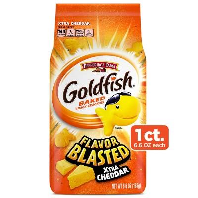 Pepperidge Farm Goldfish Flavor Blasted Xtra Cheddar Crackers - 6.6oz