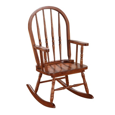 Acme Furniture Kids Rocking Chair Tobacco - image 1 of 2