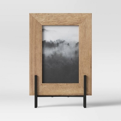 "4"" x 6"" Natural Frame with Stand Brown - Project 62™"