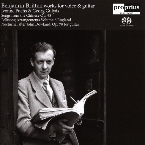 Ivonne fuchs - Britten:Works for voice & guitar (CD) - image 1 of 1