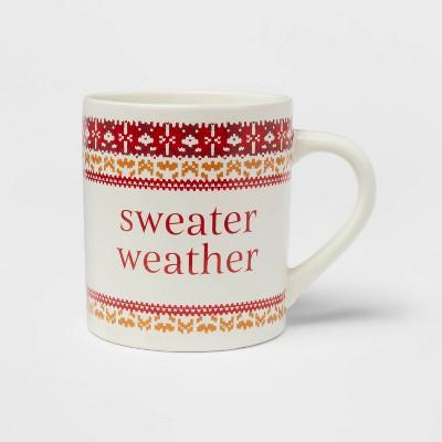 16oz Stoneware Sweater Weather Mug - Threshold™