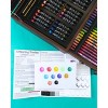 136pc Draw + Color + Paint Art Set in Wood Case - Art 101 - image 4 of 4