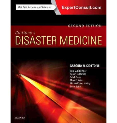 Ciottone's Disaster Medicine (Hardcover) - image 1 of 1