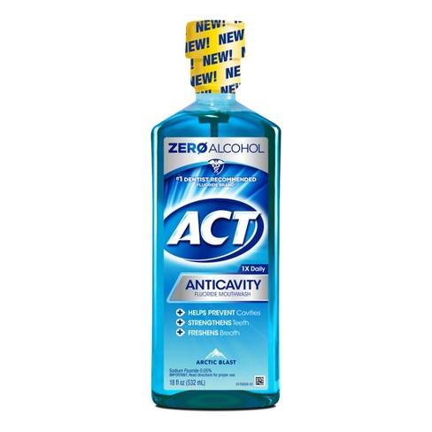 Act Anticavity Fluoride Mouthwash Arctic Blast - 18 fl oz - image 1 of 1