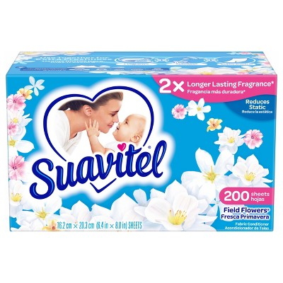 Dryer Sheets: Suavitel