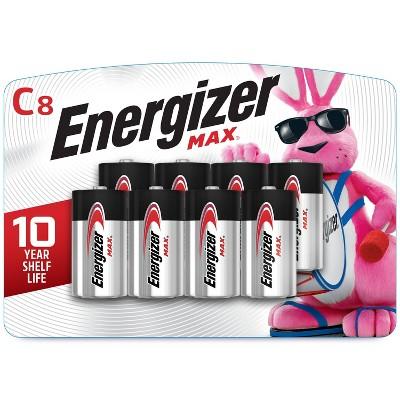 Energizer 8pk MAX Alkaline C Batteries