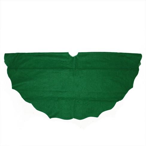 Northlight 11214415 38 Winter White Scalloped Edge Round Christmas Tree Skirt