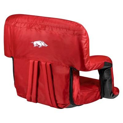 NCAA Picnic Time Ventura Seat Portable Recliner Chair
