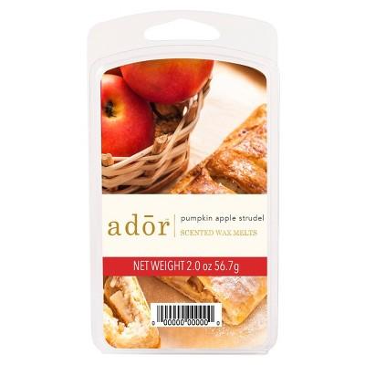 2oz Scented Wax Melts Pumpkin Apple Strudel - ADOR