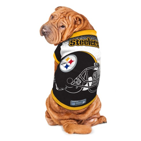 6d01b81a9eb Pittsburgh Steelers Little Earth Pet Performance Football T-Shirt ...