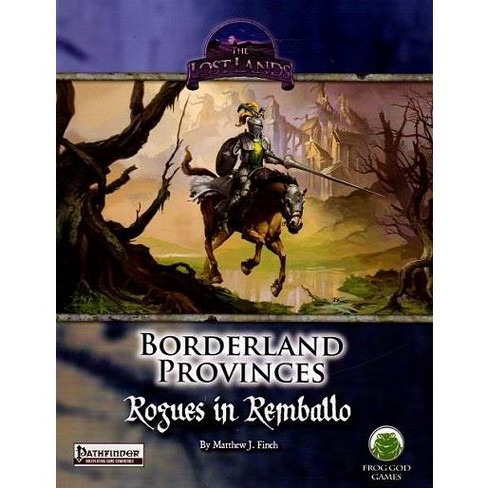 Borderland Provinces - Rogues in Remballo (Limited Edition) (Pathfinder) Module - image 1 of 1