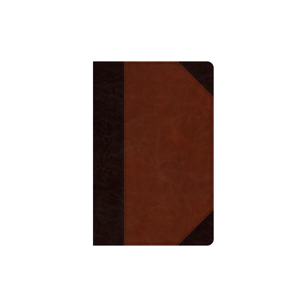 Holy Bible : English Standard Verson, Brown/Cordovan, Trutone, Portfolio: Verse-by-verse Reference Bible