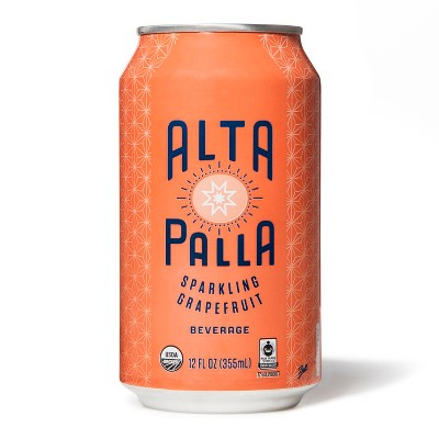 Alta Palla Organic Grapefruit Beverage 16oz