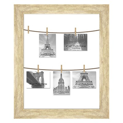 """23"""" x 27"""" Postal Views Single Picture Frame White - PTM Images"""
