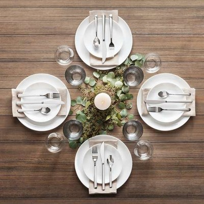 Minimal & Zen Modern Holiday Table Setting Collection