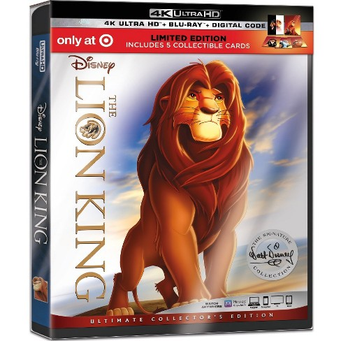 The Lion King (4K/UHD) (Target Exclusive) - image 1 of 2