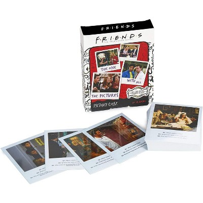 Friends Picture Quiz Card Game   2+ Players