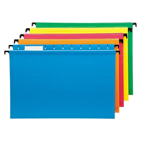 Pendaflex SureHook Poly Laminate Hanging File Folderss, Legal, Assorted, 20/Box - image 1 of 1