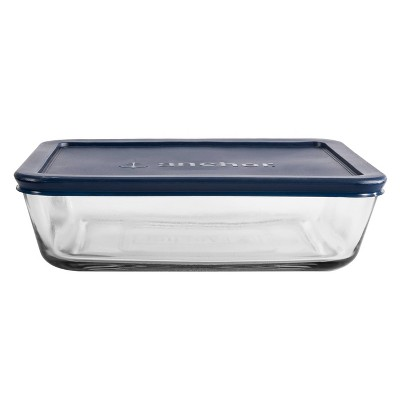 Anchor 6 Cup Rectangle Food Storage Container