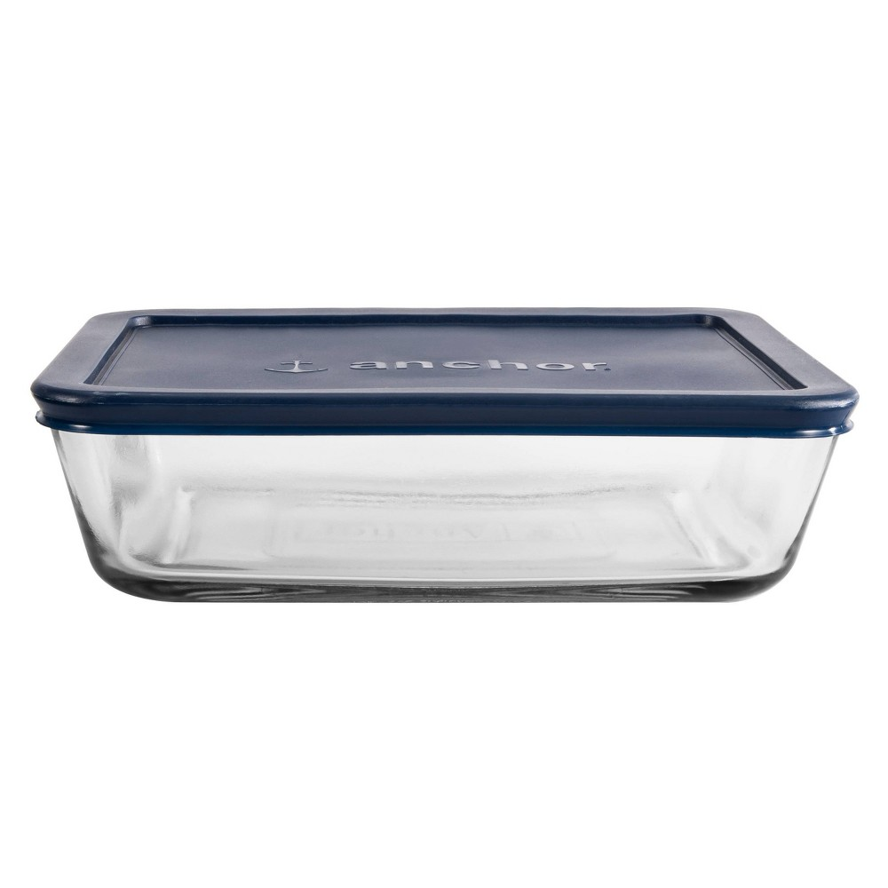 Image of Anchor 6 Cup Rectangle Food Storage Container