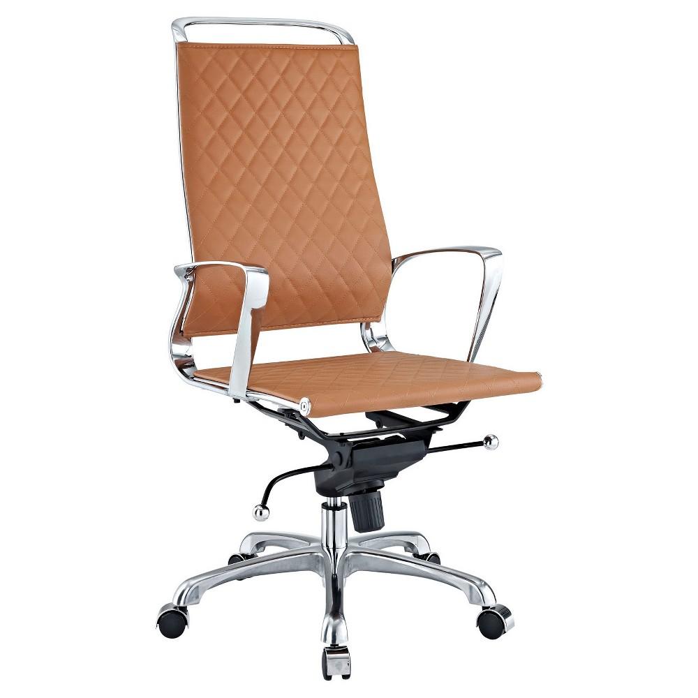 Office Chair Modway Almond Tan