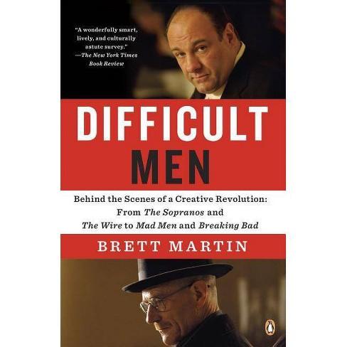 Difficult Men - by  Brett Martin (Paperback) - image 1 of 1