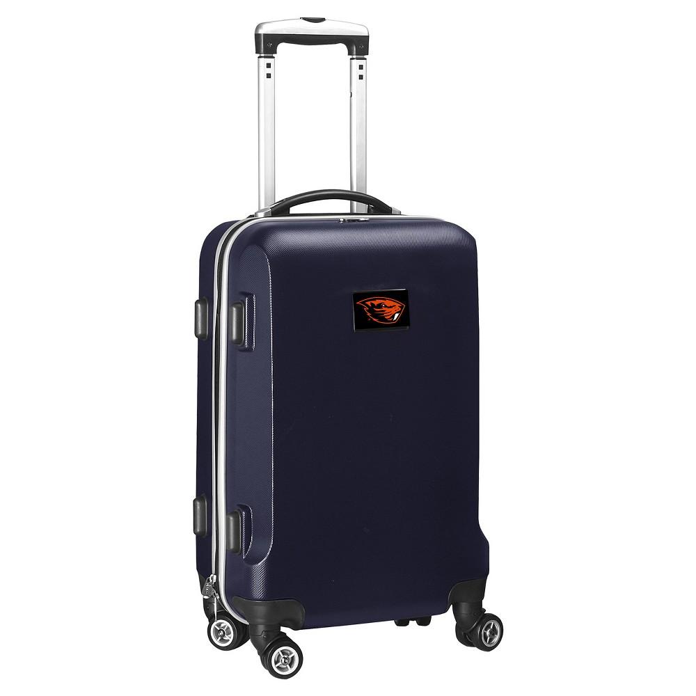 NCAA Oregon State Beavers Navy Hardcase Spinner Carry On Suitcase