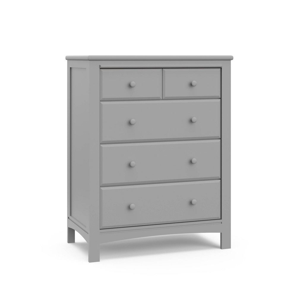 Graco Benton 4 Drawer Dresser - Pebble Gray Discounts