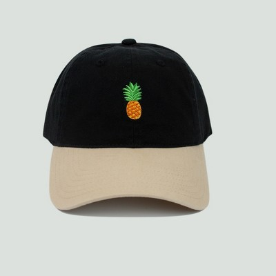 4e32472f6f1 Men s Pineapple Dad Hat - Black One Size