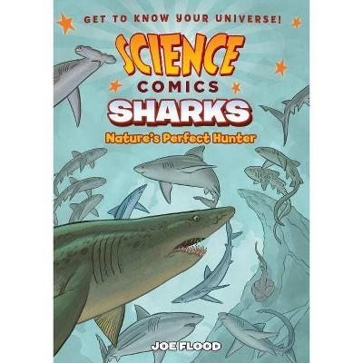 Science Comics: Sharks - by  Joe Flood (Paperback)