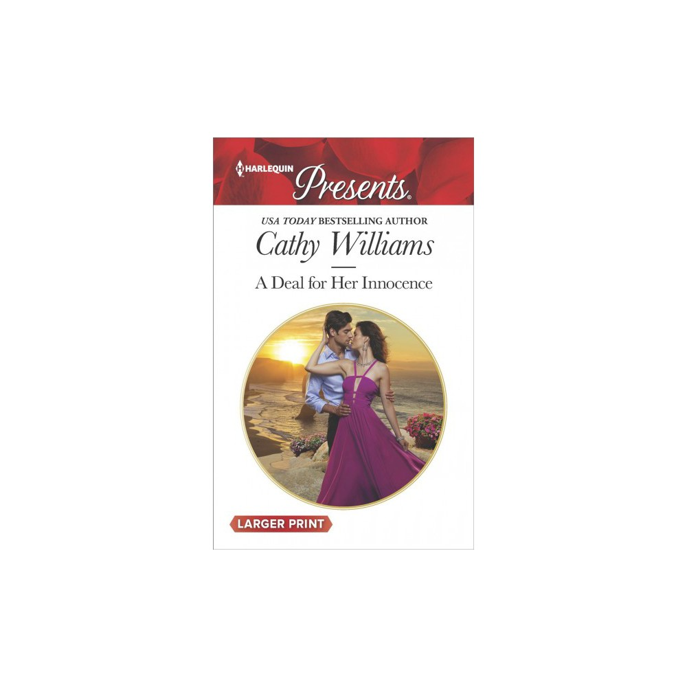 Deal for Her Innocence - Large Print by Cathy Williams (Paperback)