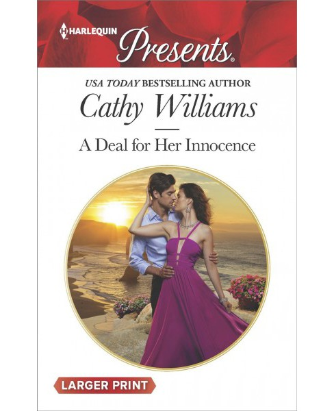 Deal for Her Innocence -  Large Print by Cathy Williams (Paperback) - image 1 of 1