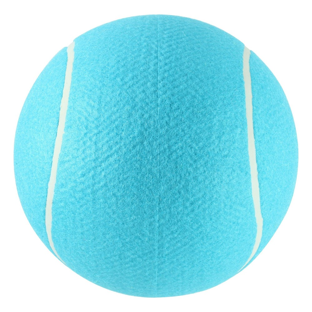 Imperial Toys Jumbo Tennis Ball - Blue Oversize Giant Tennis Ball for Children, Adults and Pet Fun. Ball measures approximately 8 inches round. Color: Blue. Gender: Unisex.