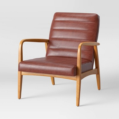 Northway Channel Tufted Wood Armchair - Project 62™