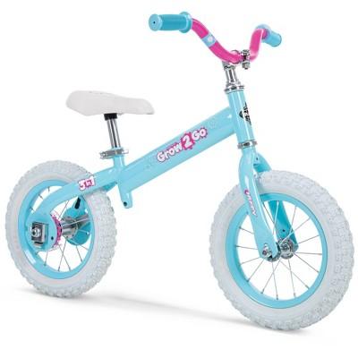 "Huffy Grow 2 Go Conversion 12"" Kids' Balance Bike - Blue"