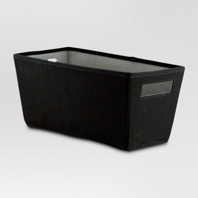 Fabric Quarter Bin - Black - Threshold™