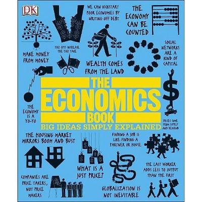 The Economics Book - (Big Ideas Simply Explained) (Hardcover)