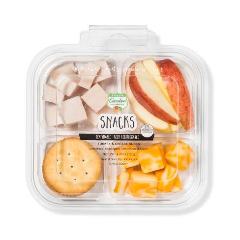 Fresh Garden Highway Turkey & Cheese Cube Snacker - 4.25oz - image 1 of 1