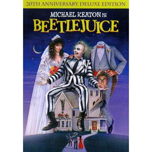 beetlejuice 20th anniversary edition deluxe edition dvd target