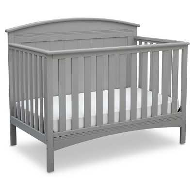 Delta Children® Archer 4-in-1 Standard Full-Sized Crib - Gray