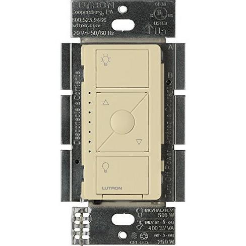 Lutron Caseta Wireless Smart Lighting Dimmer Switch for ELV+ Light Bulbs - image 1 of 4